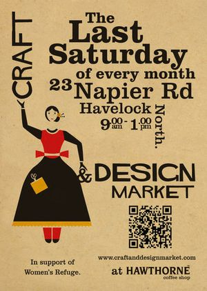 The Craft &amp; Design Market is a fabulous experience for discerning shoppers, showcasing the work of a growing number of hand-picked stalls holders.
