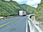 The road through the Manawatu Gorge is fully operational more than 15 months after being closed by a massive slip.