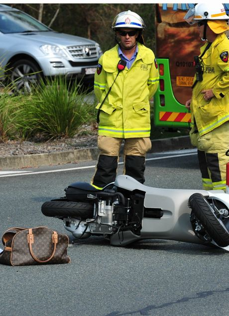 A female has died in a crash at Noosa.