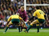 THE rollercoaster ride that is Australian rugby in 2012 continued overnight as the Wallabies resurrected their spring tour with a courageous six-point win.
