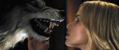 You do not want to know what Anna Hutchison does with this wolf.