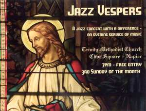 LENTEN BLUES: Jazz was born in the church, and so it returns home where the music will take the lead. The service is led by local musicians and their music.