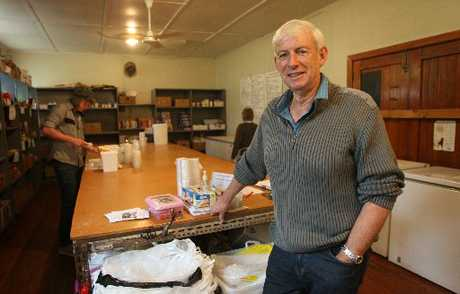 Mike Baker has spent a year as chairman of Tauranga Community Foodbank. Photo / Joel Ford