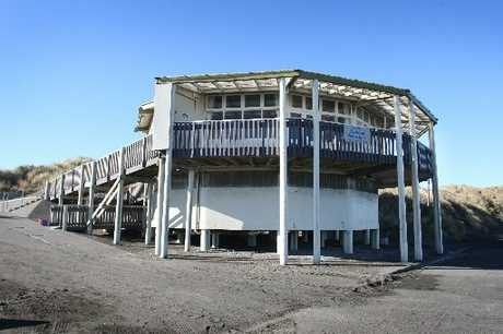 BEACH FACILITY: The Duncan Pavilion.PHOTO/BEVAN CONLEY