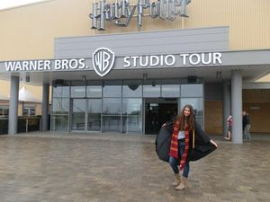 Harry Potter movie studio tour London