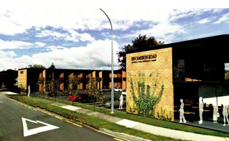  An artist&#39;s impression of what the new Cameron Rd development could look like.