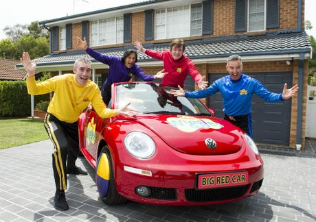 The Wiggles and Volkswagen will auction this Big Red Car for charity.