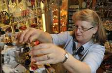 Janine Maughan has sourced exclusive German made Christmas ornaments for the Cuckoo Clock Centre in Cabarlah.