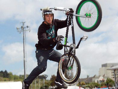 Jed Mildon will be one of the drawcards for next year's Nitro Circus Live NZ tour.