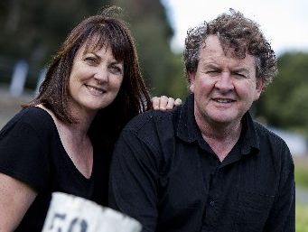 Nicola and Brian Bicknell of Mahi Wines in Marlborough.
