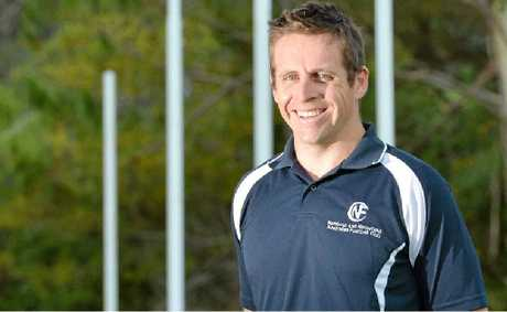 Ben Stanley has won the AFLQ senior coach of the year award.