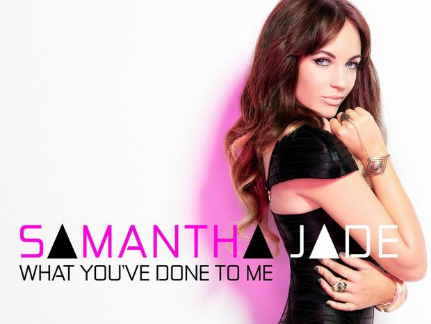 Samantha Jade's X Factor winner's single.