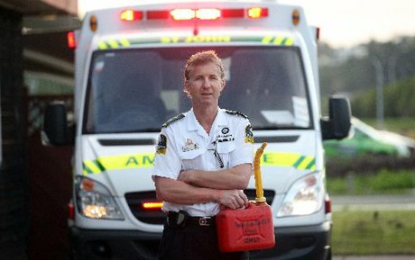 CONCERN: Bay of Plenty district operations manager Jeremy Gooders says ambulance officers sometimes have to call for police protection.