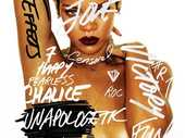 There are a lot of different sounds interspersed throughout Rihanna's latest album Unapologetic - and a lot of them may even sound a little familiar.