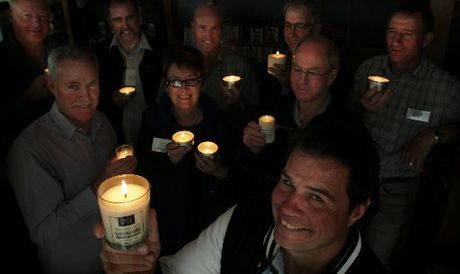 THIS LITTLE LIGHT OF MINE: Western Bay secondary principals visit Candles of New Zealand on a trip organised by Priority One.