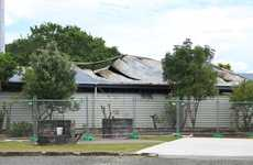 The burned-out shell of Whangamata Area School's technology block is set for demolition work later this week.