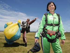Teacher&#39;s skydive