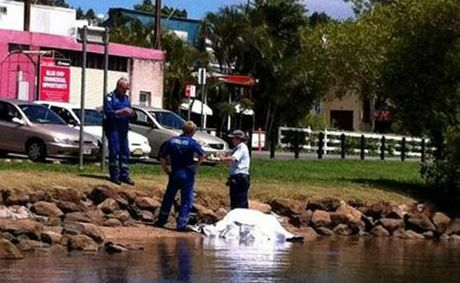 Police are investigating after a man&#39;s body was found in the Tweed River at Tumbulgum. Photo: Matt Price