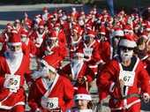 On Wednesday the 5th of December people dressed in Santa suits will take to the streets in Tauranga for the 'Great KidsCan Santa Run'