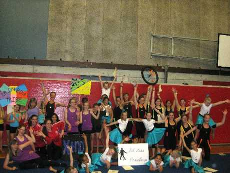 ON A ROLL: The Wanganui Boys' and Girls' Gym Club stars won every category they entered at the Waikanae Team Gym competition at the weekend. PHOTO/SUPPLIED