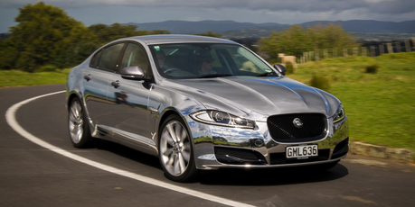 "The Jaguar XF, which took more than 50 hours to ""wrap"", has certainly grabbed people's attention since it hit the roads in Auckland."