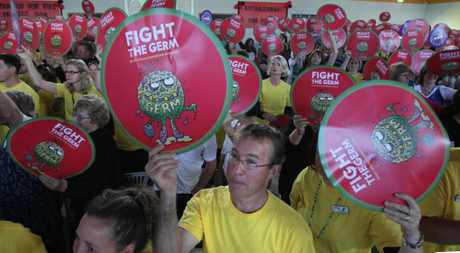 More than 400 Western Bay teachers took part in a union meeting in Tauranga yesterday.