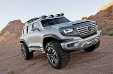 The Mercedes-Benz Ener-G-Force concept car.