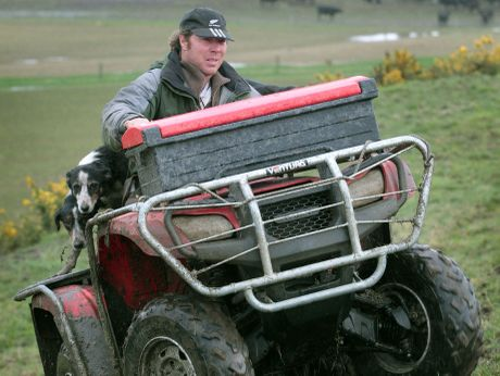 Quad bike users are taking more safety measures.