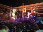THE two-hour Coldplay concert on Wednesday night included crowd favourites In My Place, God Put A Smile Upon Your Face, Clocks, The Scientist and Fix You.