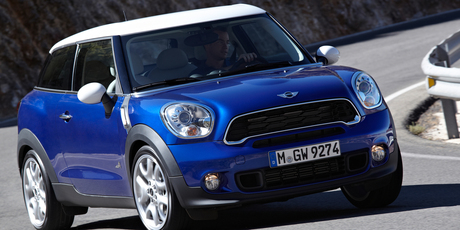 2013 Mini Paceman will be sold in NZ.
