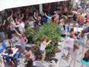 Schoolies flash mob