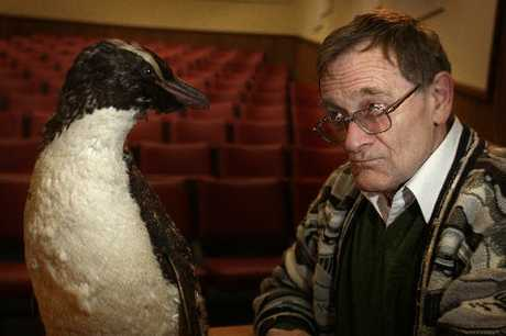 ONE PINT OF OIL PER PENGUIN: Stuart Devenie plays Joseph Hatch, a Southland politician with a passion for penguin oil, in a one-man play that will be performed at the Davis Lecture Theatre this weekend.PICTURE/BEVAN CONLEY