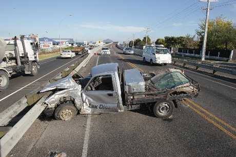 A car collision at Mount Maunganui has stalled one of the region's busiest arterial routes.