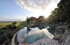 Spicers Hidden Vale retreat at Grandchester took out the deluxe accomodation award at the 2012 Queensland Tourism Awards.