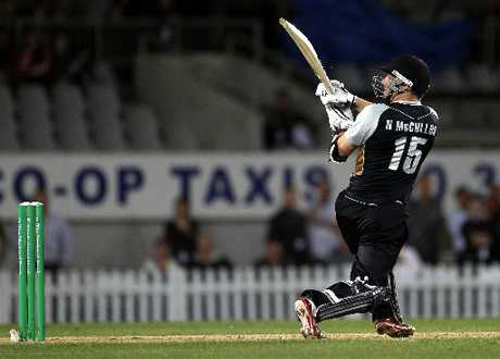 FAST ACTION: For players like Nathan McCullum to succeed in Twenty20 they have to take risks from the get-go.