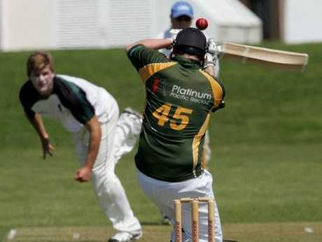 BOP DEBUT: Former Canterbury player Corey Anderson, pictured bowling, will make his debut for Bay of Plenty this weekend against Northland.