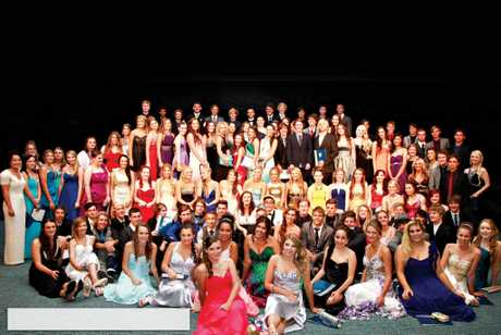 The Coolum High Graduating Class of 2012. See gallery for more photos from other schools.