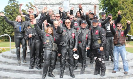 The 9-day motorcycle ride in the North and South Islands is a key White Ribbon project organised by the Families Commission to encourage men to take action and end unacceptable levels of violence towards women.