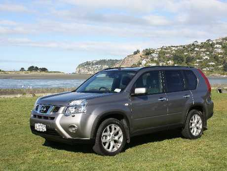 Nissan X-Trail Ti: Capable on and off-road