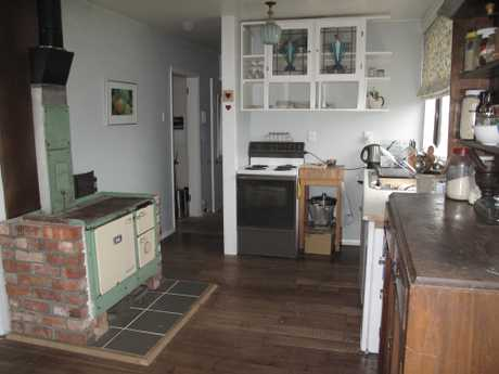 Worth the wait: The final kitchen at Nelson Lebo Eco-Thrifty renovation house.