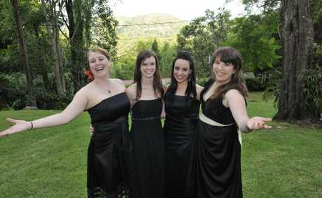 OperArtistes members (from left) Calista Walters, Marina Paroz, Anna Marangelli and Kaitlyn Orange will perform at the Carols by Candlelight event at Spring Bluff.