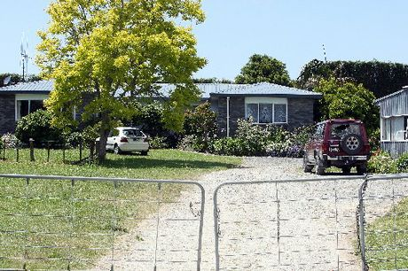 Three people were attacked when gatecrashers entered a Te Puna property.