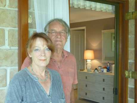 Maleny Traditional Bed and Breakfast owners Rick and Rita Thurgood.