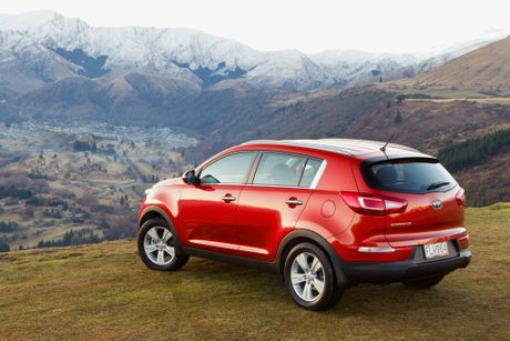 Kia's functional and value-packed Sportage.