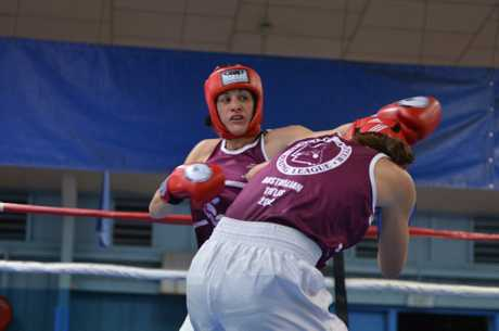 CQMMA's Shari Ranger is back in the ring after a six year break from the sport. Photo: Lee Constable / The Daily Mercury.