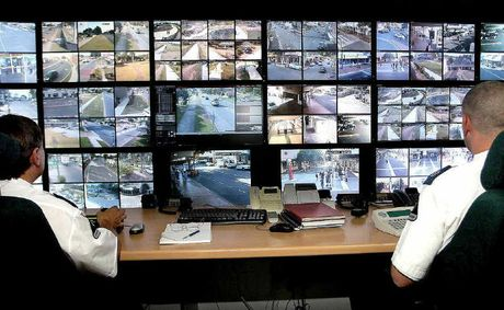 WATCHFUL EYE: Safe City cameras maintain a scrutinising eye above the central city area making detection of law breakers an easier matter for authorities.