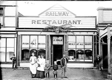 PIONEERING VENTURE: The Railway Restaurant, Hastings. PHOTO/ANONYMOUS