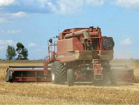 HARVEST: Clifton growers are keeping their fingers crossed for fine weather as the winter crop comes off paddocks across the Southern Downs.