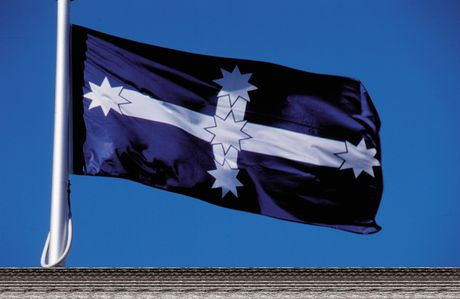The flag that became the symbol of the Eureka Stockade.