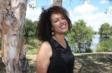 Christine Anu soaks up the sun while on the Sunshine Coast to promote her new role in the acclaimed musical South Pacific.